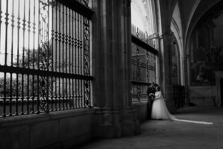 Boda en la catedral de Toledo